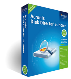 Disc Director 11 Home Acronis Disk Director Home