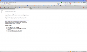 Screen shot associated-services.net